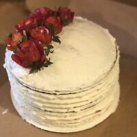 Customers have requested a variety of cakes from Mayo including strawberry shortcakes. Photo by Elena Mayo.