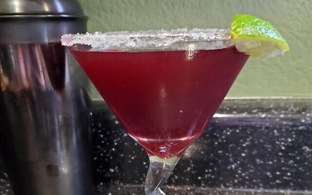 Pomegranate margarita. Photo by Jennifer Starrett.