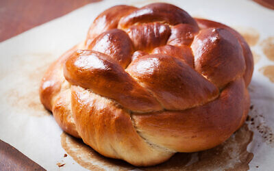 Freshly baked homemade challah bread. (iStock photo by Natalia Van Doninck)
