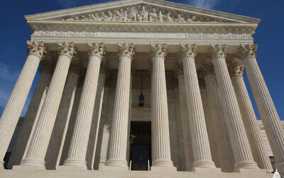 The U.S. Supreme Court Building's West Front Façade (Photo by Architect of the Capitol)