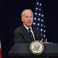 Joe Biden delivers remarks at the 2016 Chief of Missions Conference in Washington, D.C., on March 14, 2016. (State Department Photo/Public Domain)