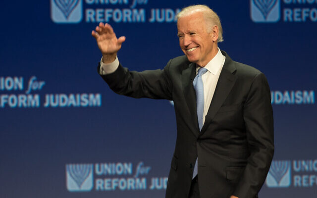 Joe Biden at the 2015 URJ Biennial event in Orlando, Florida (Photo by Dale Lazar)