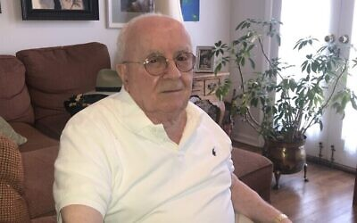 Judah Samet, 82, is a Holocaust survivor, former Israeli paratrooper and more recently a survivor of the Tree of Life mass shooting in 2018. (Photo courtesy of Judah Samet via JNS)