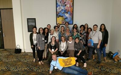 Members of JPro Pittsburgh attended the national JPro convention in Detroit in 2019. Photo provided by JPro Pittsburgh.