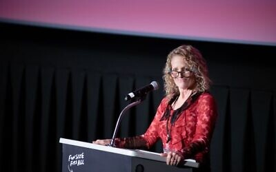 Executive Director Kathryn Spitz Cohan is welcoming her 20th season as executive director of Film Pittsburgh. Photo by Nathan J Shaulis, Porter Loves.