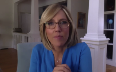 Alisyn Camerota co-hosted an Oct. 22 webinar focused on security in the Jewish community. (Screenshot from the video)