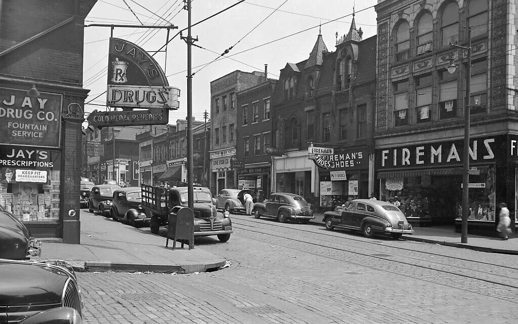Jay Drug Co. in 1943  (Photo provided by Rich Brean)