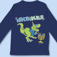 The menorasaurus design (Photo courtesy of Shira Levenson)