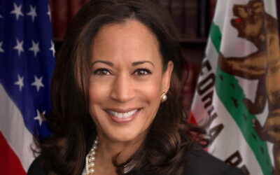Official headshot of United States Senator Kamala Harris (D-CA) from May 12, 2017 (Public domain)