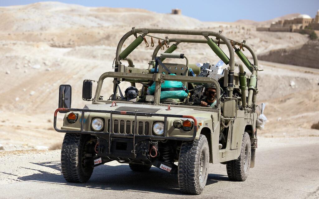 IDF vehicle (Photo by Mussi Katz / public domain)
