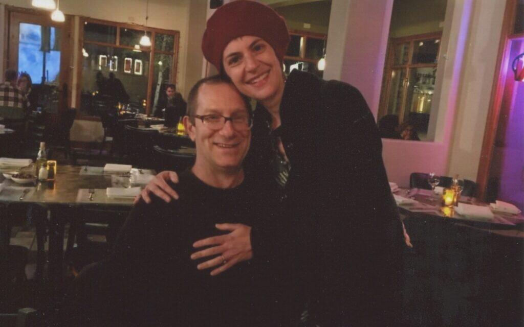 Douglas Levine and Lauren Braun in Telluride (Photo courtesy of Lauren Braun)