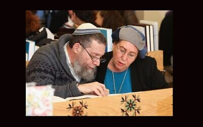 Rabbi Yehuda Herzl Henkin and his wife, Chana, started a groundbreaking program for Orthodox women to answer questions of Jewish law. (Photo courtesy of Nishmat via JTA)