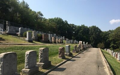 Agudath Achim Cemetery in Beaver Falls (Photo provided by Barry Rudel)