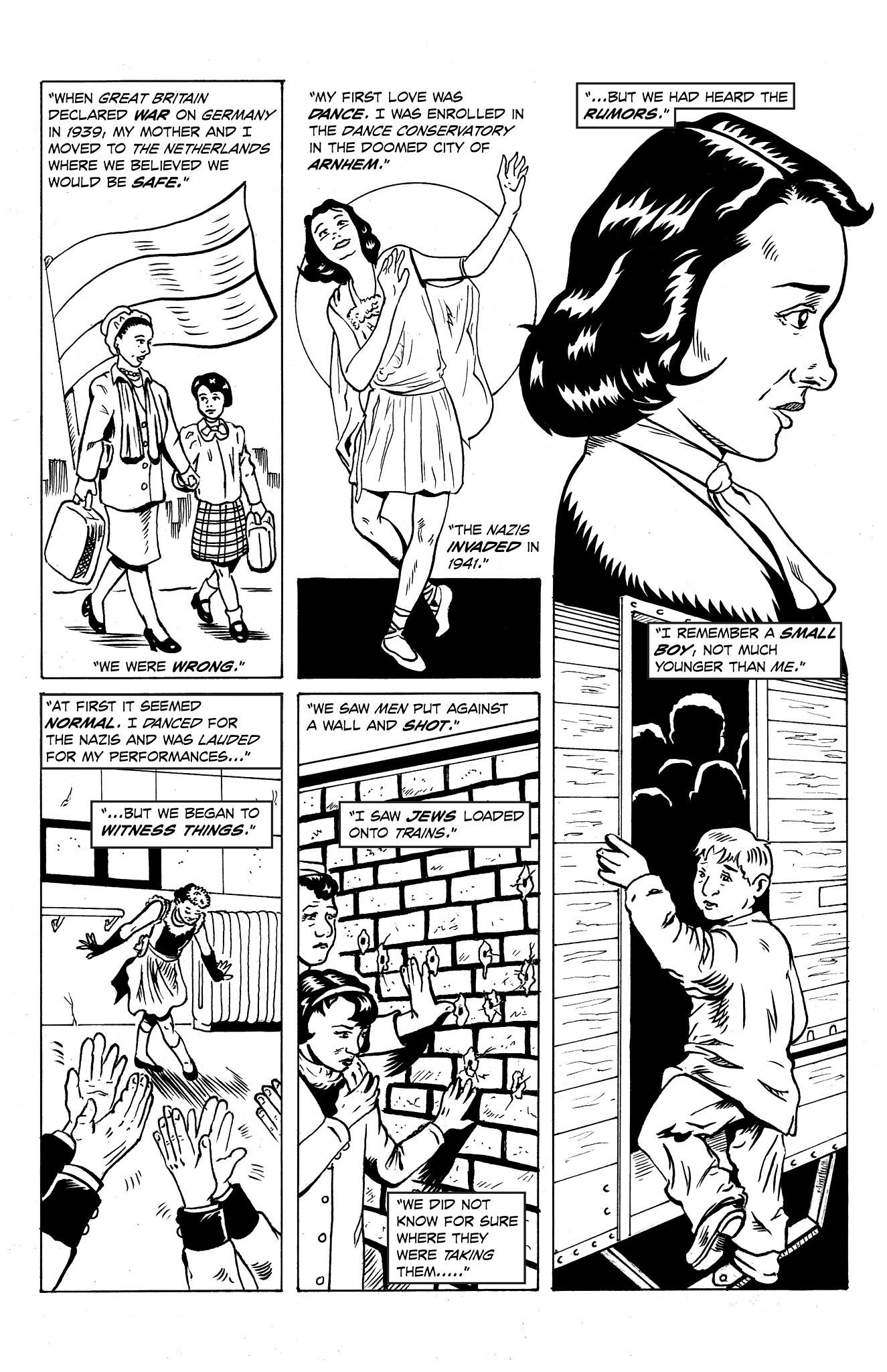 """""""Audrey Hepburn"""" Script by Wayne Wise; Art by Marcel L. Walker & Wayne Wise"""