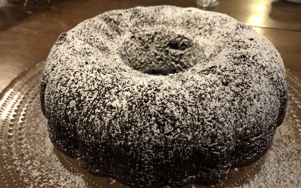 Chocolate espresso cake (Photo by Jessica Grann)