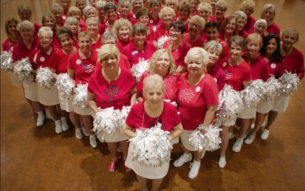 A cheer squad in The Villages (Photo courtesy of Magnolia Pictures)