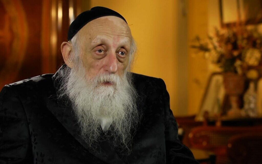 Rabbi Dr. Abraham J. Twerski (Courtesy of Amudim via JTA)