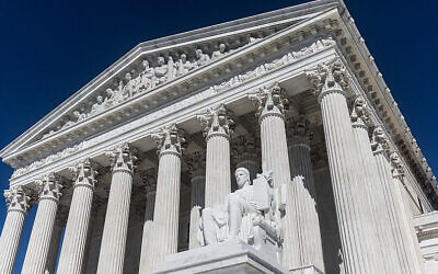 The U.S. Supreme Court. (Photo via Pixabay via JNS)