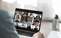 Illustrative: Zoom meeting (iStock-1262376619)