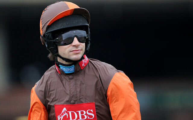 Sam Waley-Cohen, jockey  (Photo by David Davies/PA Images via Getty Images via JTA)