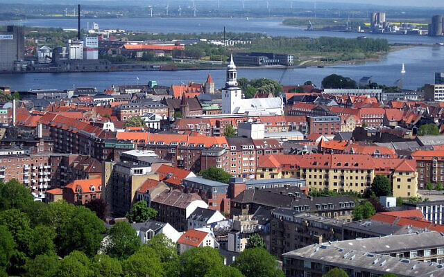 Aalborg, Denmark. (Photo by Tomasz Sienicki via Wikimedia Commons/via JNS)