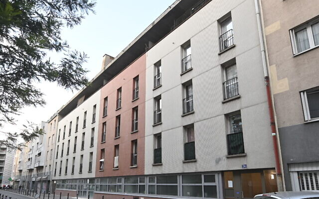 The building where Sarah Halimi was killed in Paris, France, pictured on April 24, 2021 (Photo by Cnaan Liphshiz via JTA)