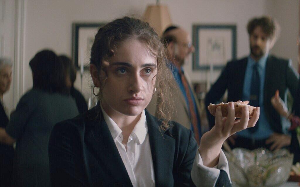 Rachel Sennott as Danielle in 'Shiva Baby,' by filmmaker Emma Seligman (Courtesy photo)