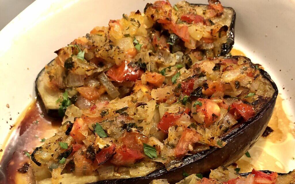 Stuffed Turkish eggplant (Photo by Jessica Grann)
