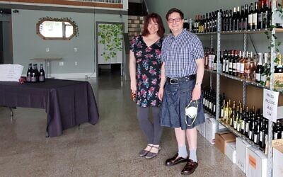 Cynthia Craig and Curt Friehs have opened kosher wine story Chosen Wine in the heart of Dormont. Photo by David Rullo