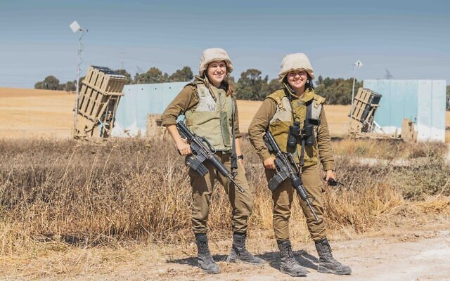 Israeli soldiers (Photo via Israel Defense Forces)