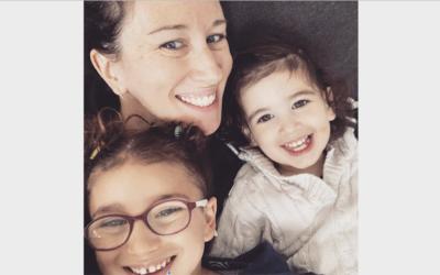 Keren Rosenfeld and her children (Photo courtesy of Keren Rosenfeld)