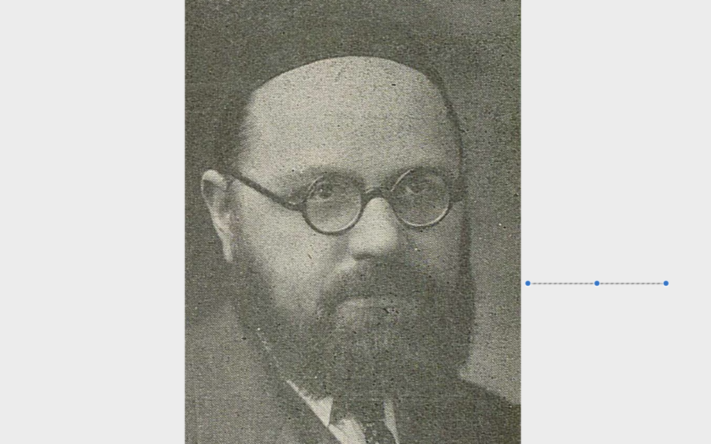 Rabbi Zev Wolf Leiter was one of the leading rabbis of Pittsburgh for decades, and yet few people today remember the details of his intellectual life.  (Image provided by Rauh Jewish Archives)