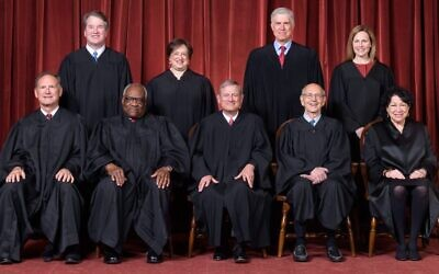 The Roberts court in 2021. (The Supreme Court)