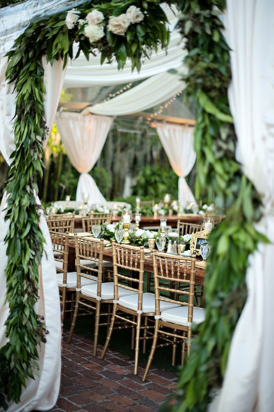 """""""Forest Wedding Hall Decoration"""" by partyhelpgroup is marked with CC PDM 1.0"""