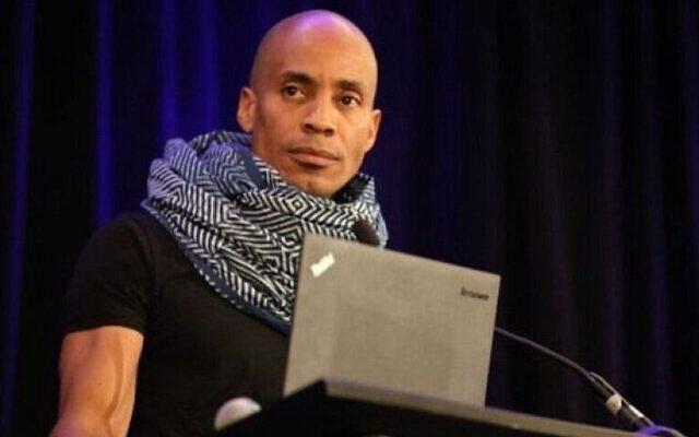 Kamau Bobb, head of diversity at Google (Source: Twitter via JNS)
