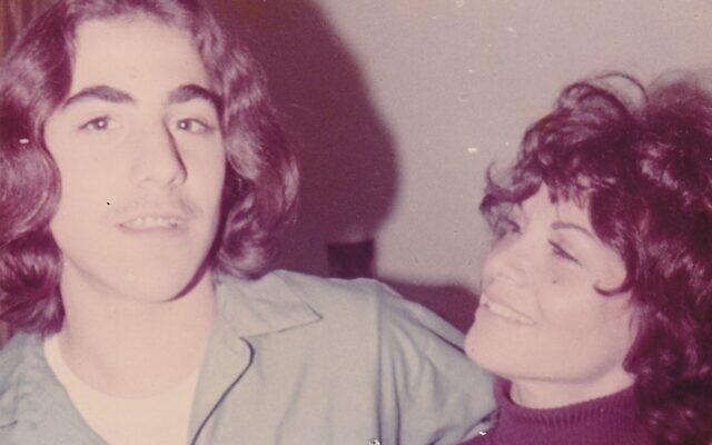Larry Thomas and his mother Dorine Thomashoff. Photo courtesy of Larry Thomas