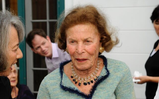 Ruth Frank at her 90th birthday party (Photo courtesy of Jonsara Ruth)