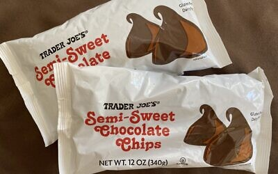 New pareve chocolate chips at Trader Joe's (Photo by Toby Tabachnick)