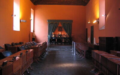The Museo de la Inquisición,, used by the Spanish Inquisition between 1570 and 1820. Photo by Phil Whitehouse.