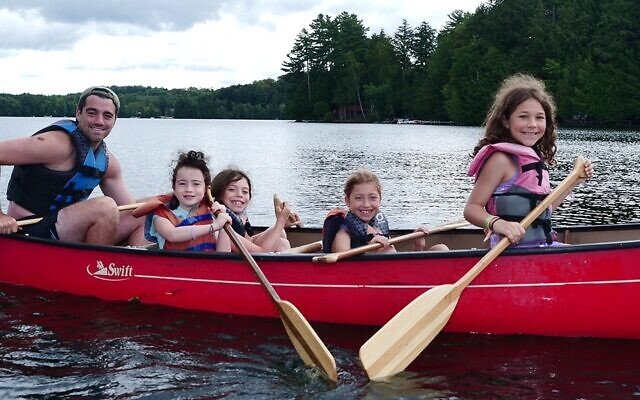Campers enjoying Camp Ramah in Canada pre-pandemic (Photo courtesy of Camp Ramah in Canada)