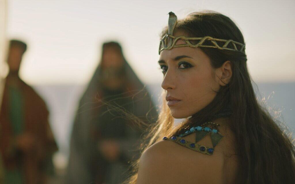Cleopatra, ruler of ancient Egypt, in CNN's docuseries 'Jerusalem' (Photo courtesy of CNN)