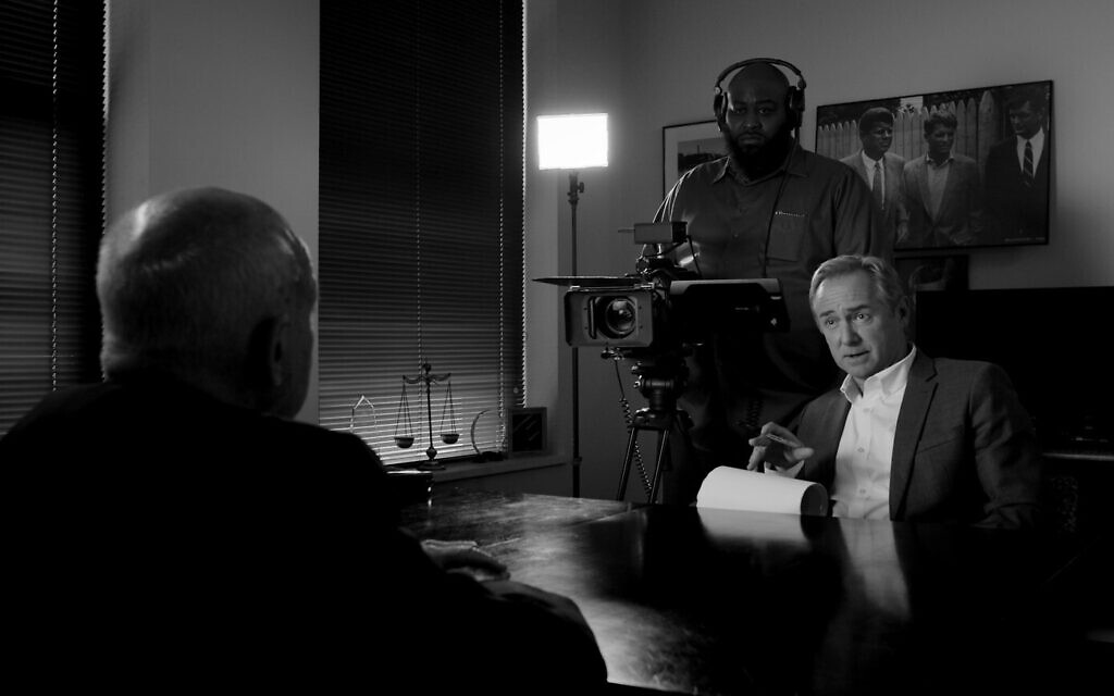 """(L to R): Dr. Cyril Wecht, Sam Lothard, and David Whalen in """"Cyril"""" (Still from film courtesy of Andrew Paul)"""