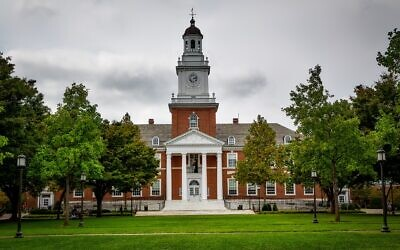 Johns Hopkins University (Photo by David Mark via Pixabay)