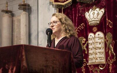 Rabbi Mary Zamore, the executive director of the Women's Rabbinic Network (Photo by Steve Shawl via JTA)
