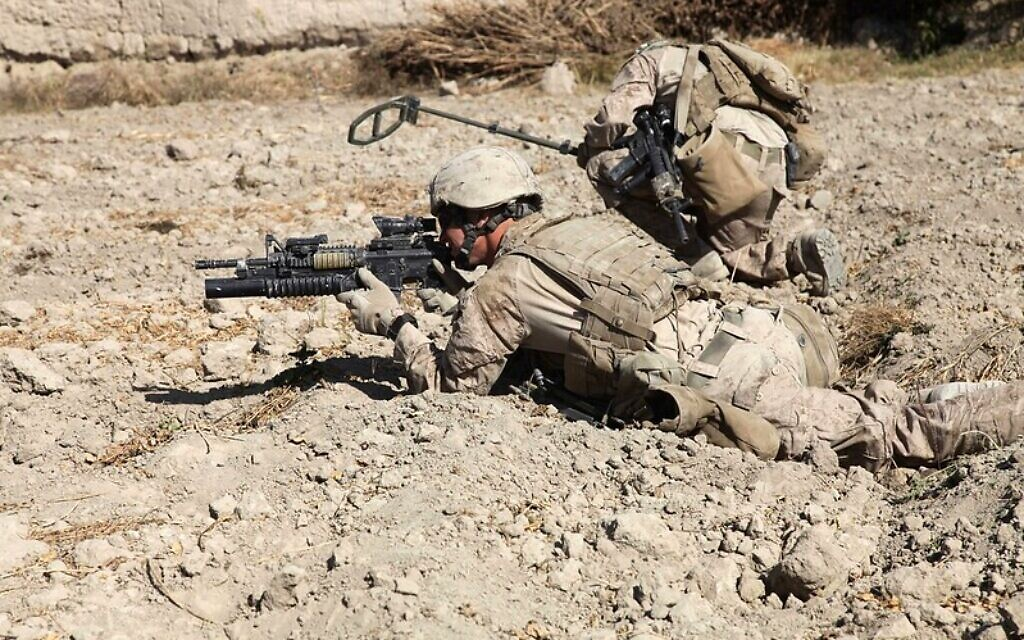 Despite nearly two decades in Afghanistan, American forces have left the country leaving it to the Taliban, an organization it fought during its time in the country. U.S. Marine Corps photo by Lance Cpl. Jorge A. Ortiz/ Released.