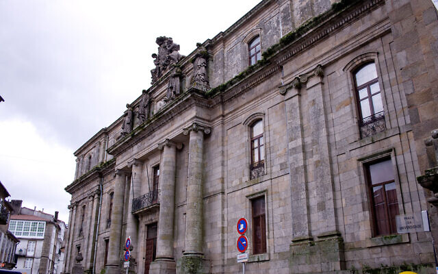 A building of the University of Santiago de Compostela, in Galicia, Spain. (Iago Pillado/Wikimedia Commons)