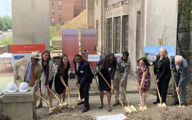Groundbreaking ceremony for 327 N. Negley Residences (Photo by Sarah Abrams)