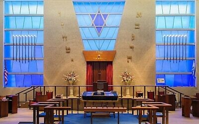 Gemilas Chesed in White Oak hopes more people will see the inside of their sanctuary through their membership in the JCLS's small synagogue coalition. Photo by Eliran Shkedi