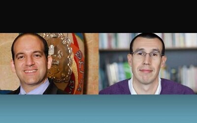 Beth El Congregation of the South Hills  Rabbi Alex Greenbaum and Temple Emanuel of South Hills Rabbi Aaron Meyer.