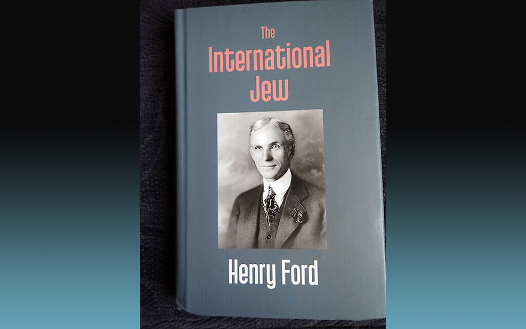 """""""The Internatonal Jew by Henry Ford . Kalpaz Publications 2017. Originally published 1920. Ford helped publicize """"The Protocols of Zion"""" in the United States."""